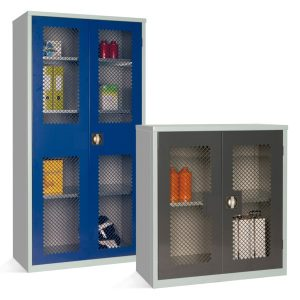 Mesh Fronted Cupboards