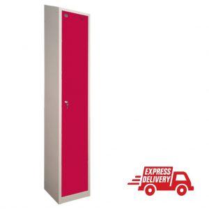 Axis Hero Express Quick Delivery Locker 1 door red