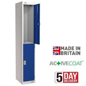 Axis Steel Locker 2D Blue