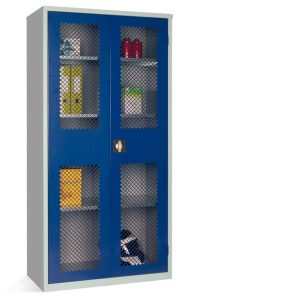 mesh fronted cupboard