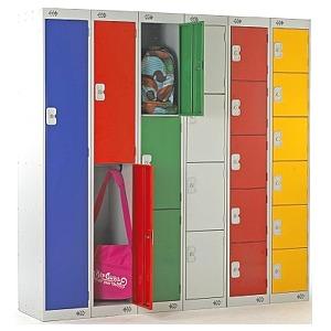 Link Lockers, Coloured Lockers