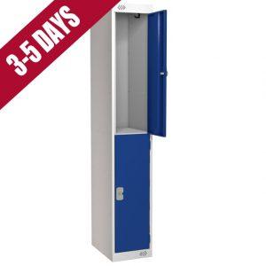 Link Quick Delivery 2 Door Locker Blue Door