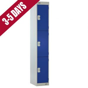 Link Quick Delivery 3 Door Locker Blue Door