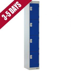 Link Quick Delivery 4 Door Locker Blue Door