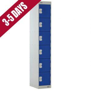 Link Quick Delivery 6 Door Locker Blue Door