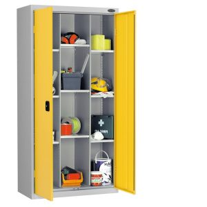 Probe 12 compartment cupboard- steel