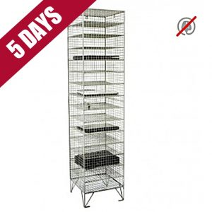 wire mesh laptop tablet locker cabinet cupbaord