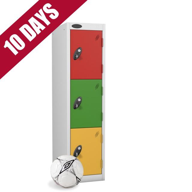 Probe key stage 1 low level primary school 3 door lockers