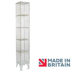 Wire Mesh Locker 5 door amp crown Robinsons