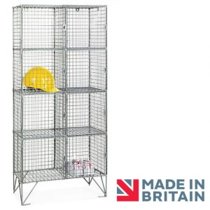 Wire Mesh Locker 8 compartment amp crown Robinsons