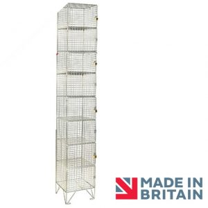 Wire Mesh Locker 8 door amp crown Robinsons