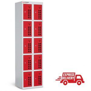 Armorgard Powerstation 10 Door tool battery charging locker PWS10