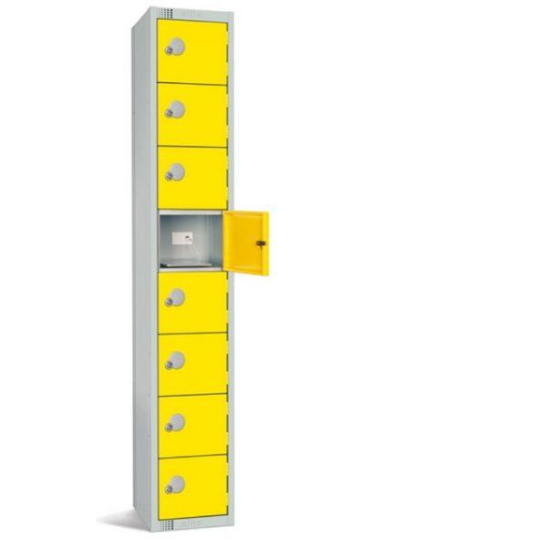 elite incharge 8 door phone tablet ipad usb charging locker