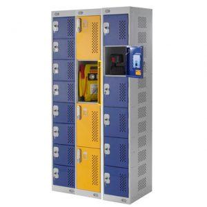 Tool Charging Lockers