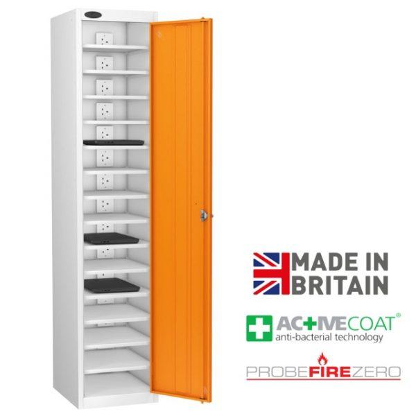 Probe 15 Compartment Single Door Laptop Tablet Ipad Storage Charging Locker Cabinet
