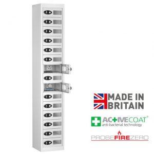 Probe 15 Door Tablet Ipad Phone Device Storage Charging Locker Cabinet