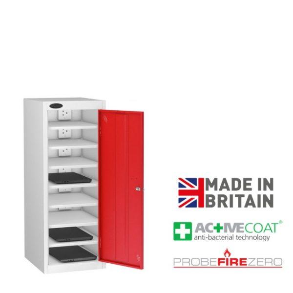 Probe 8-Door Laptop Storage Charging Locker