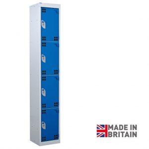QMP Tool Charging Storage Locker 4 Door