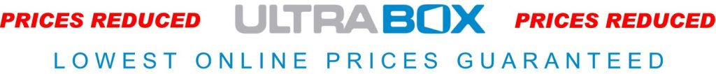 Price's reduced on all Ultrabox plastic lockers, lowest online prices guaranteed