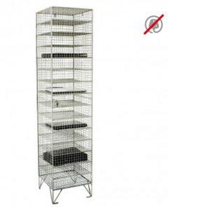 wire mesh laptop locker storage