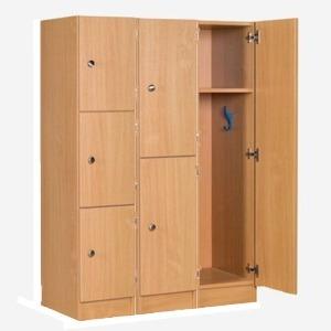 Premium Wood Primary School Lockers