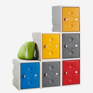 Plastic Primary School Lockers