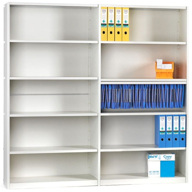 Probe ikon closed clad back office shelving