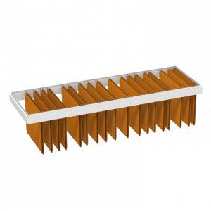 probe ikon office shelving lateral filing frame