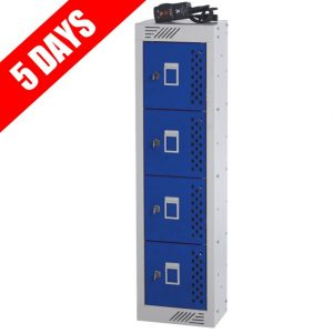 Quick Delivery 4 Door mobile phone storeage and charging locker