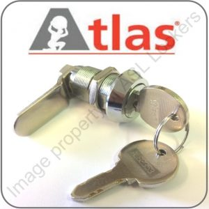 atlas lockers replacement lock barrel and 2 keys