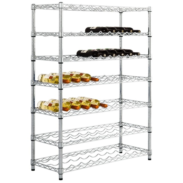 chrome wire coldstore hygenic shelving