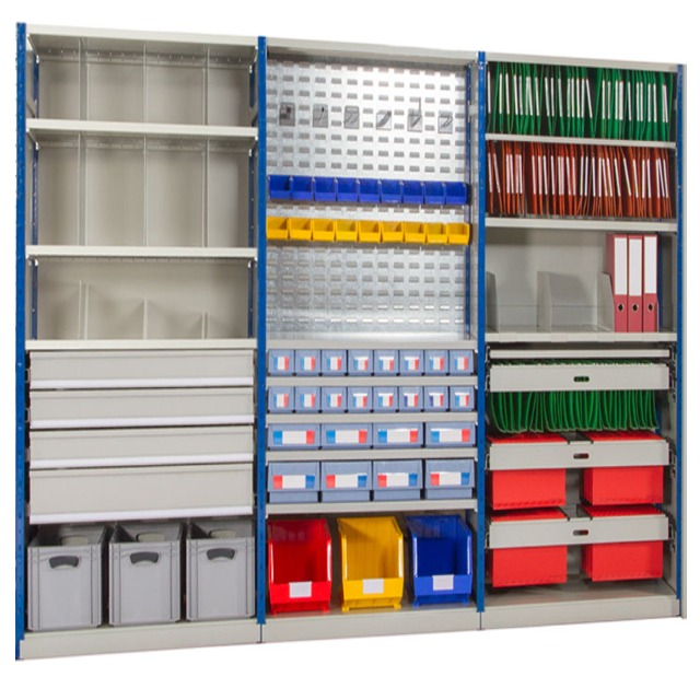 expo 4 boltless multi purpose office storeroom warehouse shelving