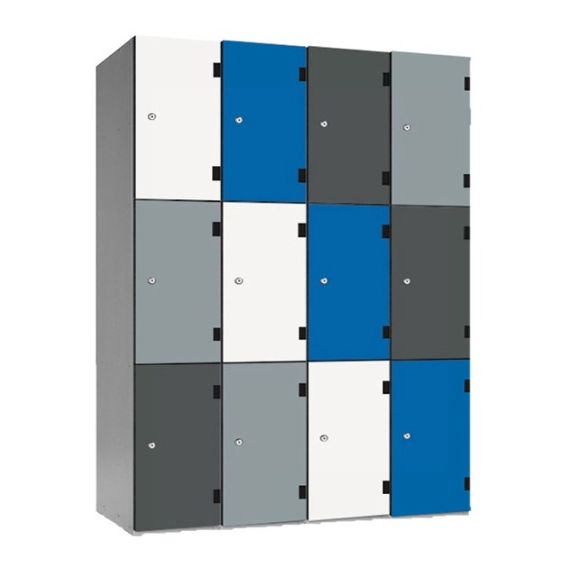 laminate trespa sgl door lockers