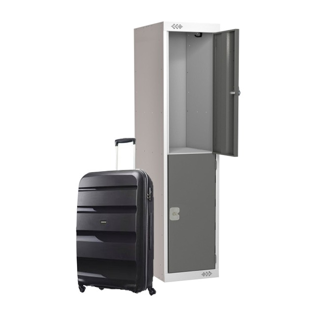 luggage suitcase hotel lockers