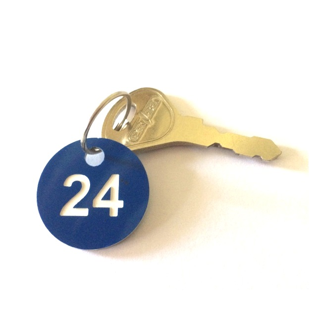 key fobs number discs plates lockers