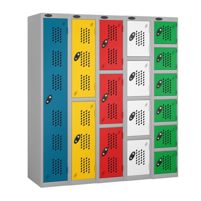 Perforated Vented Door Lockers