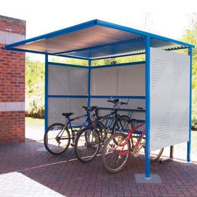 qmp cycle bike parking shelters sheds