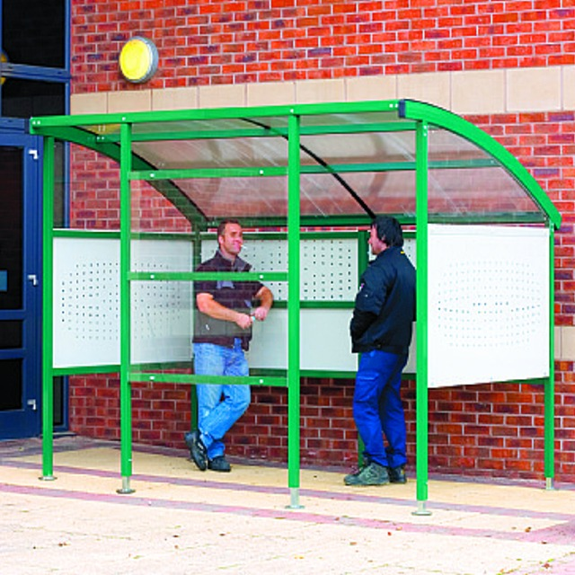 QMP smoking shelters covers canopies sheds