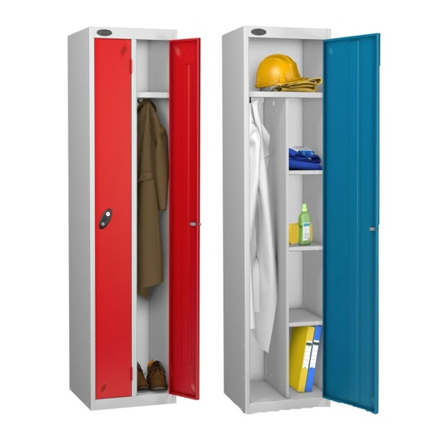 workplace staff twin combi utility locker
