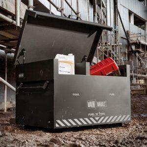 Van Vault Fuel 'N' Tool steel tool storage box