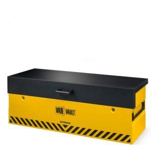 van vault outback vehicle tool equipment storage box