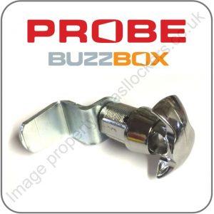 probe buzzbox hasp and staple latch padlock lock fitting