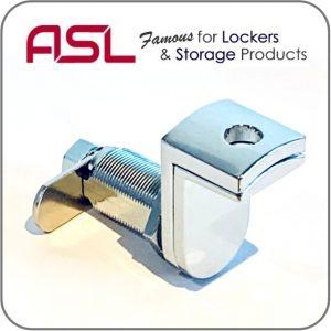 ASL latch hasp lock for wood door lockers