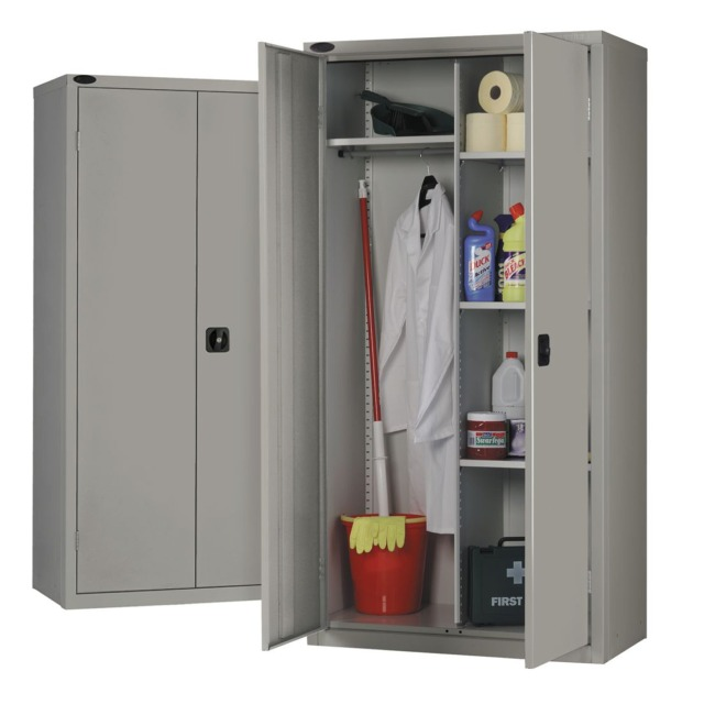 Janitors Cleaners Steel Cupboard Cabinet