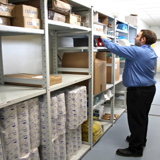 shelving racking storage metal steel office warehouse storeroom