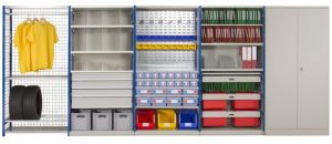 Expo 4 boltless versatile shelving