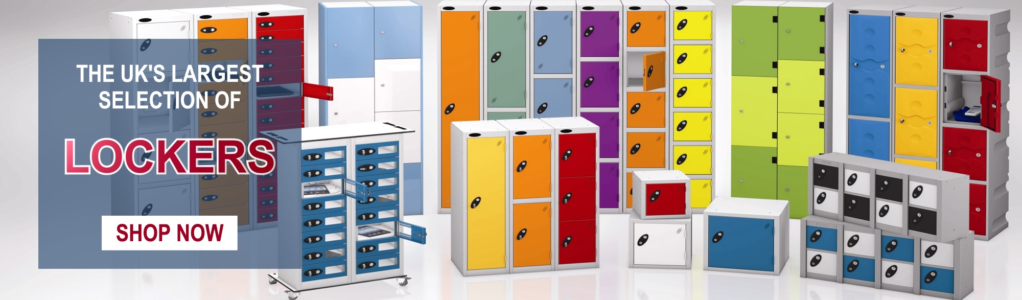 The UK's largest selection of lockers and storage equipment