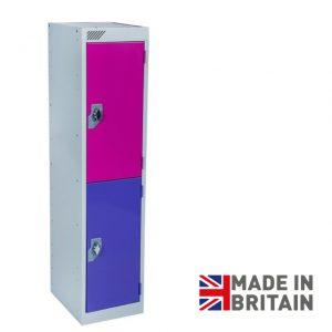 Vedette Low level primary school locker key stage 1 2 door