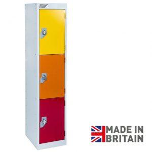 Vedette Low level primary school locker key stage 2 3 door