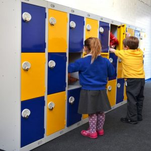 primary junior school low level lockers keys stage 1 2